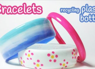 how to make bracelets out of plastic bottles