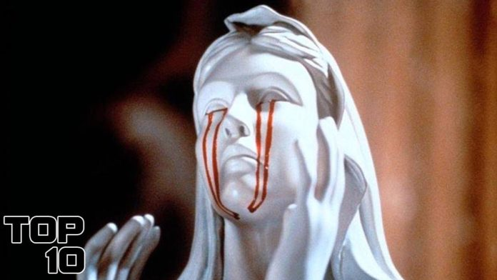 statues that cried blood